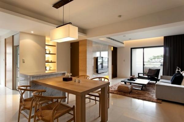 Moderne minimalistische deko ideen gem tliches interieur for Appartamenti decor