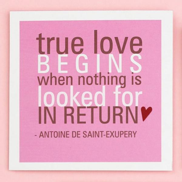 Valentinstag Zitat Liebe Karte