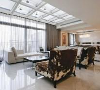 Wohnzimmer mit Dachfenster – Ideen und Vorschläge