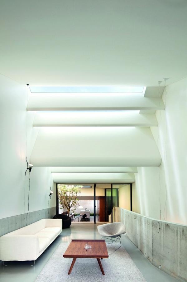 Wohnzimmer Dachfenster Weiss