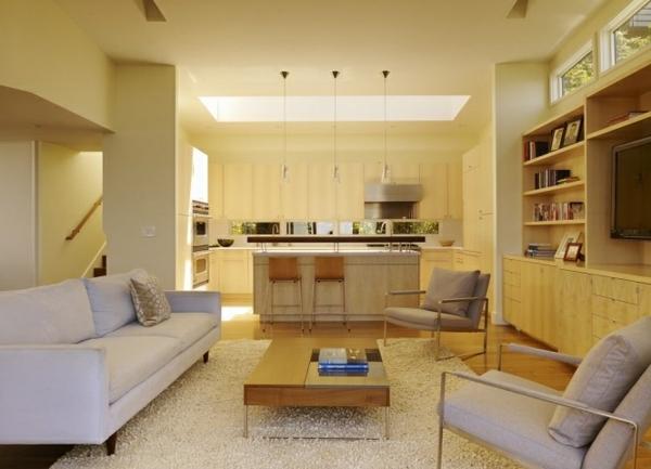 Wohnzimmer Dachfenster Klassisch Modern