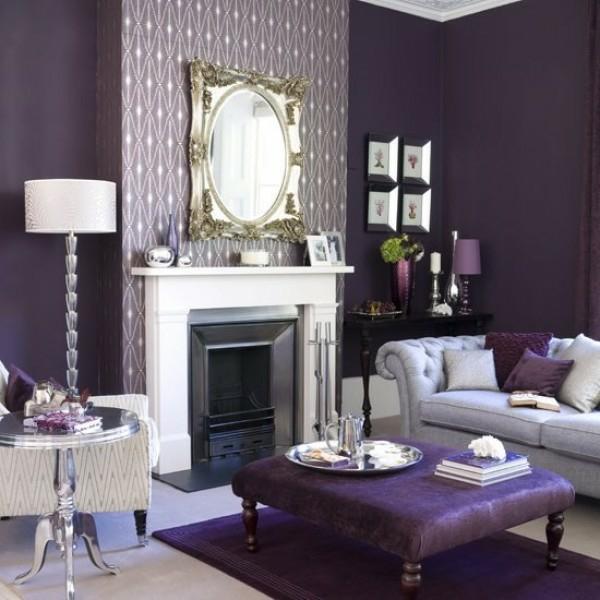 wohnzimmer deko wohnzimmer deko lila inspirierende bilder von wohnideen design - Design Deko Wohnzimmer