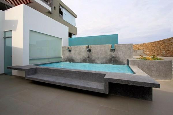 spektakulärsten gegenwärtige pools minimalistisches design