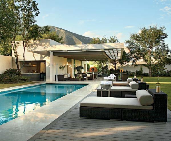 38 Von Den Spektakulärsten Gegenwärtigen Pools - Stilvolle Designs Ideen Schwimmbad Im Haus