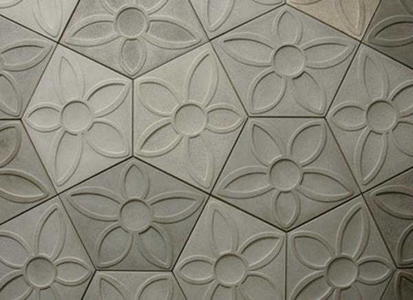 moderne betonfliesen von designer daniel ogassian. Black Bedroom Furniture Sets. Home Design Ideas