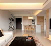 Moderne minimalistische deko ideen gem tliches interieur for Fahrrad minimalistisch