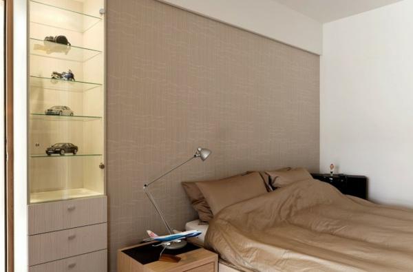 Moderne minimalistische deko ideen schlafzimmer