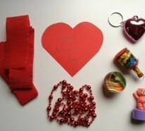 valentinstag geschenksidee sch nes herz aus papier selber basteln. Black Bedroom Furniture Sets. Home Design Ideas