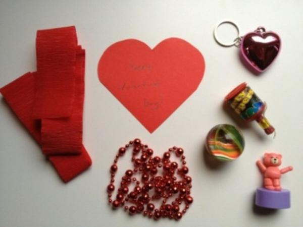Valentinstag Hausdekoration Ideen