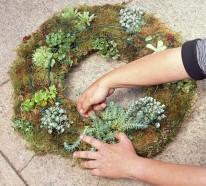 Gartengestaltung: Pflanzen Sie einen lebendigen Kranz