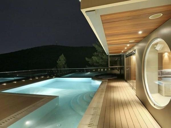 panorama spektakulärsten gegenwärtigen pools outdoor romantisch