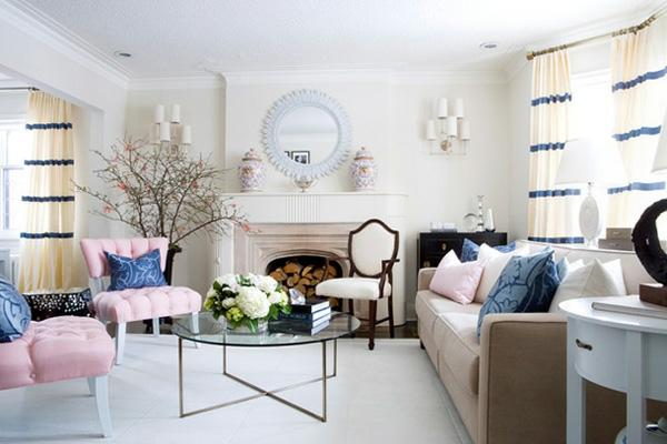 pastel wand möbel raum wohnung interieur in pastels