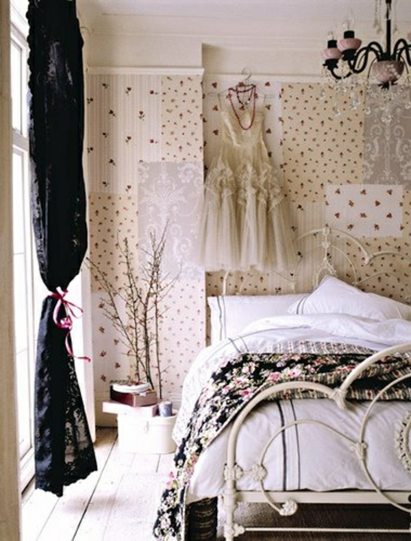 elegante patchwork Wanddekoration