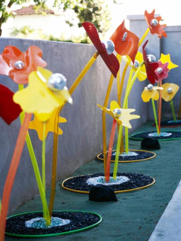 Gartendeko ideen aus preiswerten und g nstigen materialien for Gartendeko idee