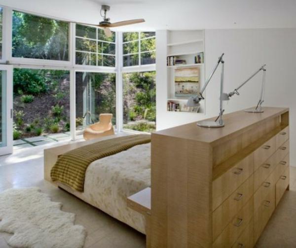 awesome gestaltung schlafzimmer platz bett gallery - ideas ...