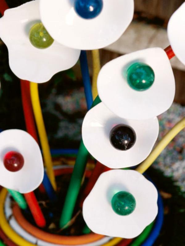fehler deko idee glasmarmore plastik kunststoff bunt farben