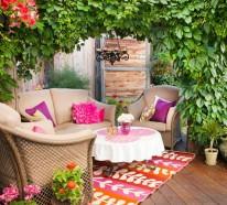 Schaffen Sie behaglichen Außenwohnraum mit Terrasse-Möbeln und Schutz