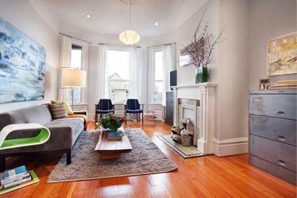 Renovieren Sanieren Haus Wohnung Idee Wohnzimmer Modern