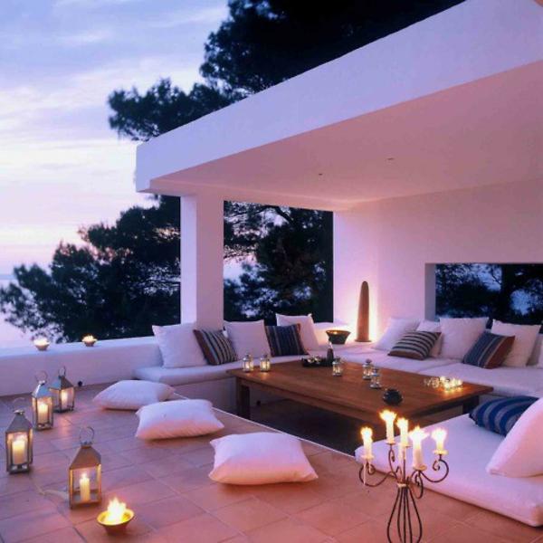 Unterschied Terrasse Balkon Veranda: Atmosph re idee patio balkon ...
