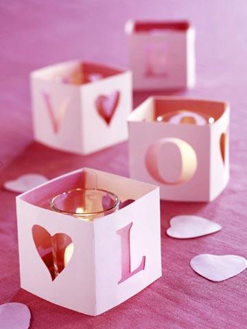 romatisch kerzen valentinstag voller liebe coole deko ideen