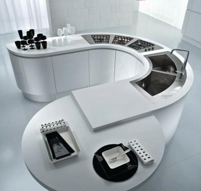 20 Moderne Kücheninsel Designs