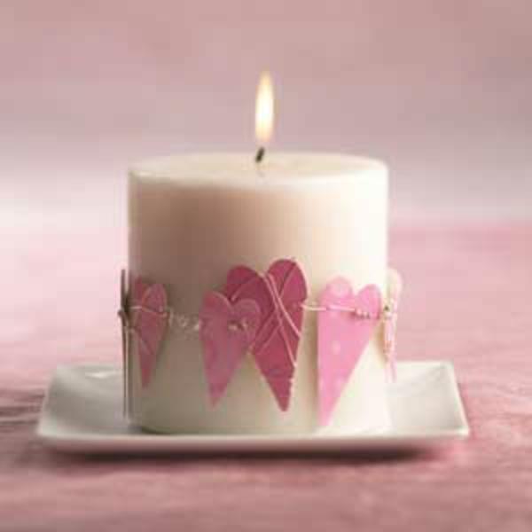 Kerzen Ideen Valentinstag