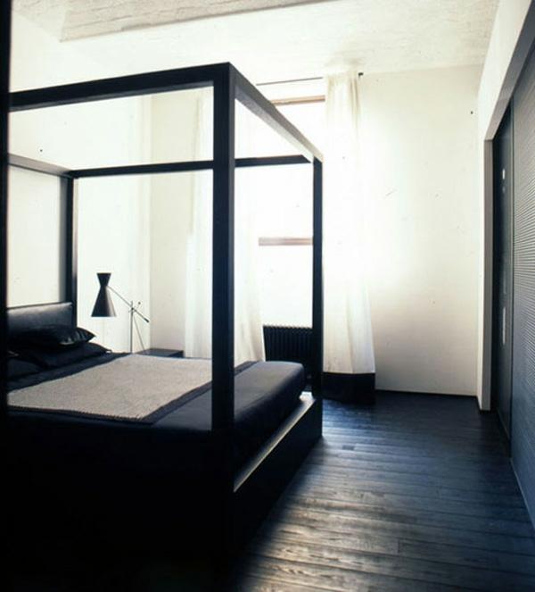Schwarze Interieur Design Ideen