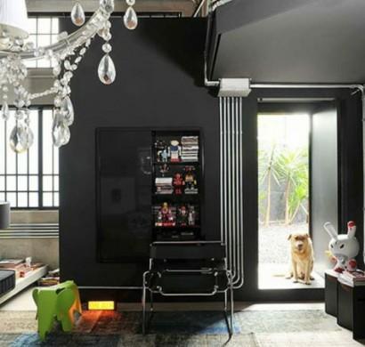 Schwarze Interieur Design Ideen - inspirierende Vorschläge ...