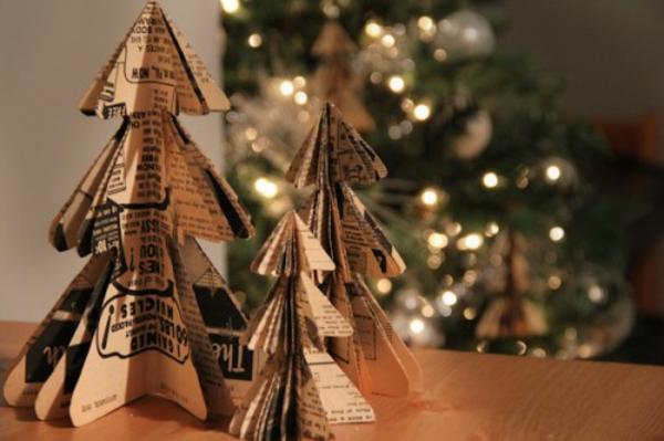 Kleine Papierfiguren - Baum