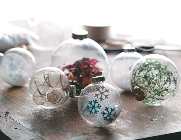 Ideen für den modernen Weihnachtsbaum – Ornamente aus Papier
