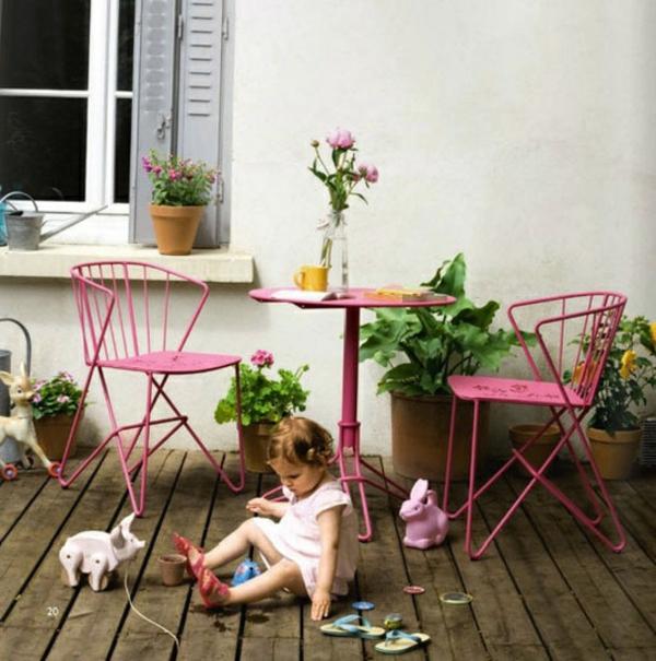 patio kind tisch stuhl essbereich metall