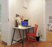 30 skandinavische Schreibtische, die Kreativität bei der Arbeit inspirieren