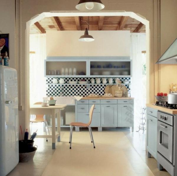 Küchendesign Ideen italienischer Stil