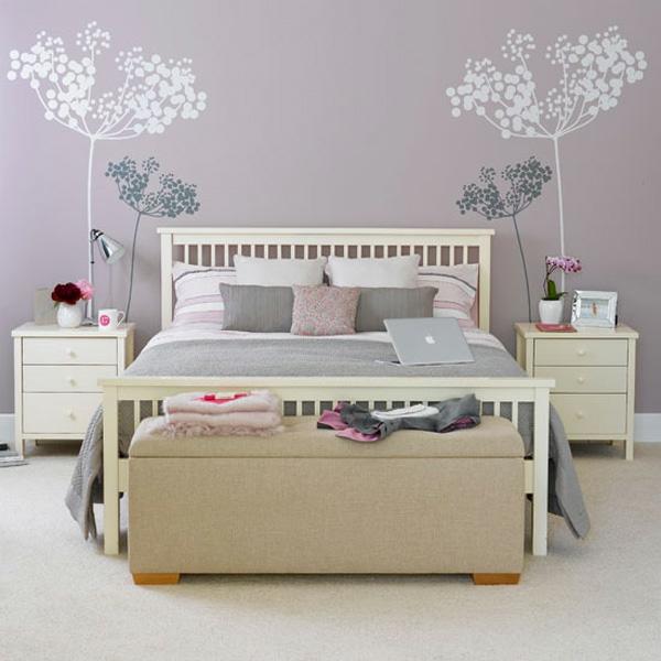 Pastell Schlafzimmer Farben U2013 25 Ideen Für Farbgestaltung, Schlafzimmer  Entwurf