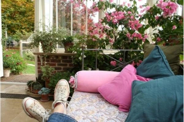 20 wintergarten design ideen vielfalt von exotischen. Black Bedroom Furniture Sets. Home Design Ideas