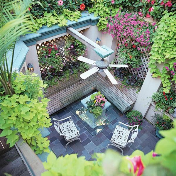 Hier sind ein paar coole Terrasse Gemütlichkeit Ideen