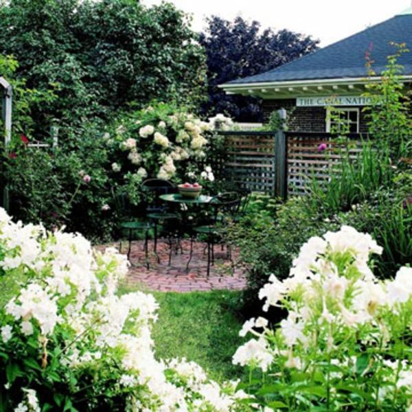 Terrasse Gemütlichkeit Ideen patio versteckt