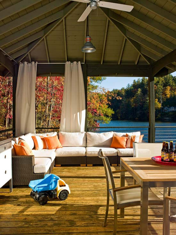 terrasse rückzug idee outdoor erholunge patio terrasse