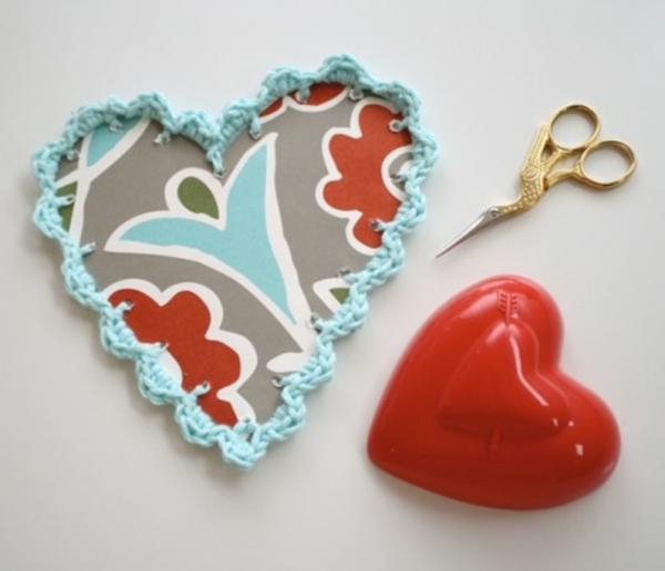 Valentinstag handgemachtes Geschenk