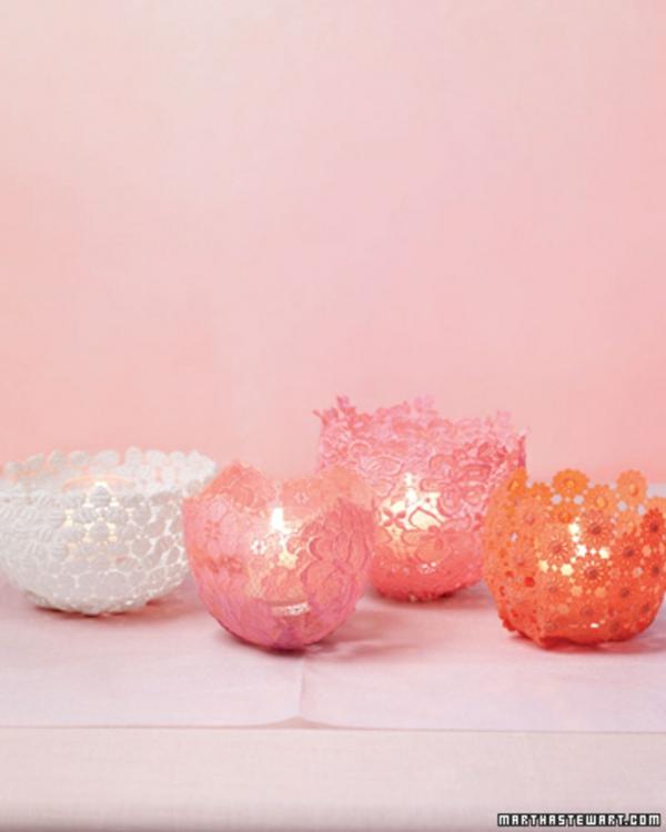 Vielfalt Kerzen Dekoration