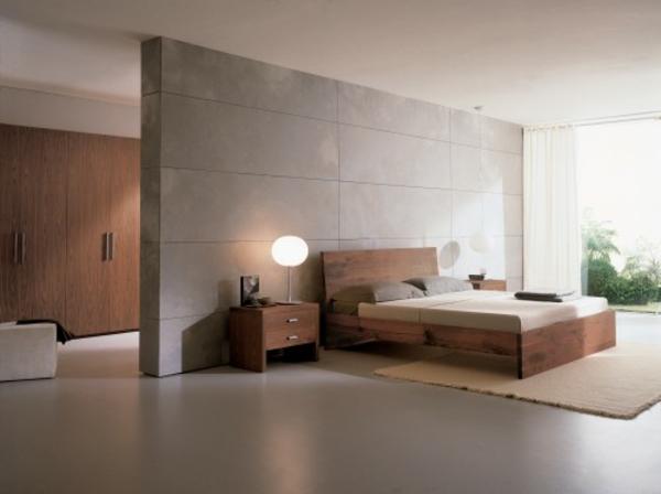 Uberlegen 33 Ideen Für Den Platz Hinter Dem Bett Im Schlafzimmer ...
