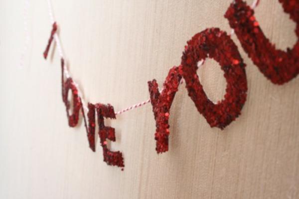 Valentinstag Dekoideen