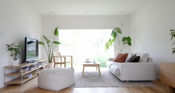 Minimalistische inspiration originelles japanisches design - Minimalistisches wohnzimmer ...