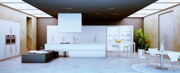 Ideen - Innenausstattung vom Designer minimalistisches Aussehen