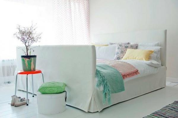 33 Ideen Für Den Platz Hinter Dem Bett Im Schlafzimmer ...