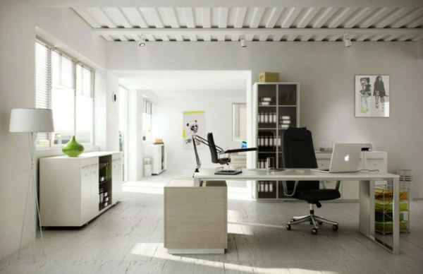 arbeiten sie von zu hause aus stilvolle ideen f r wohnungsausstattung. Black Bedroom Furniture Sets. Home Design Ideas