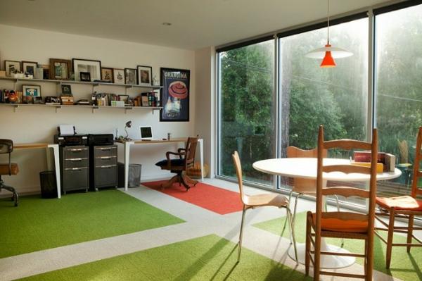 Arbeiten sie von zu Hause aus Interior Design
