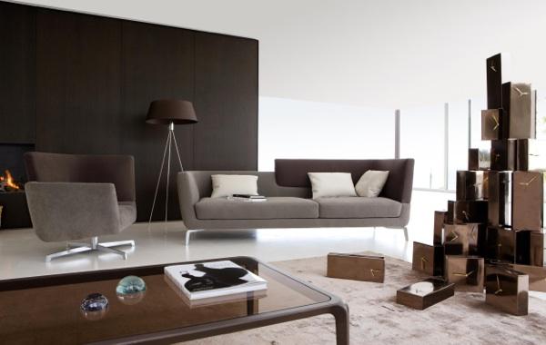 idee wohnzimmer ideen dunkler boden wohnzimmer ideen rochebobois 9 - Idee Im Wohnzimmer