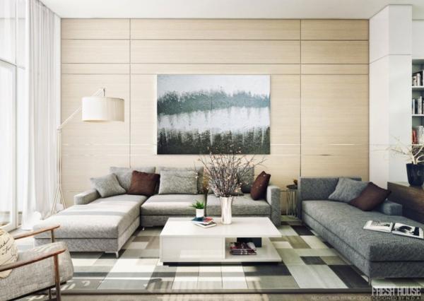 moderne und extravagante Wohnzimmer Ideen