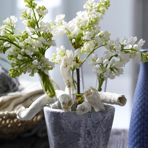 Deko Ideen erstaunlichem Triebholz Vase Blumen